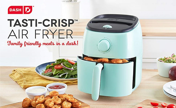 Dash Tasti Crisp Electric Air Fryer + Oven Cooker