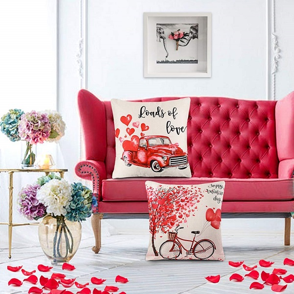 Valentine's Day Loads of Love Pillow Covers