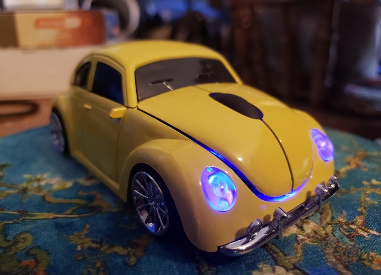 Cool 3D Sports Car Wireless Mouse