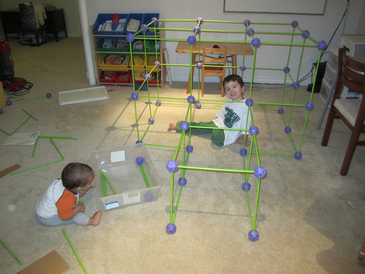 Crazy Forts Cave Maker Creative Indoor Toy for Kids