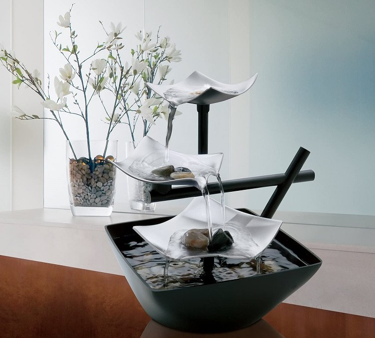 Artistic Tabletop Indoor Relaxation Fountain