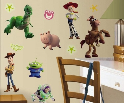 Toy Story 3 Wall Decals