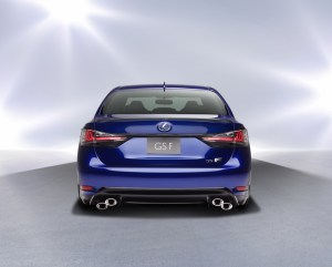Lexus GSF_Heck