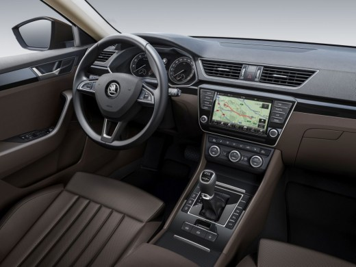 150203 SKODA Superb Interior LaK