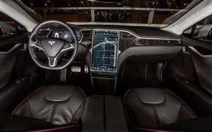 Tesla Model S_Interieur
