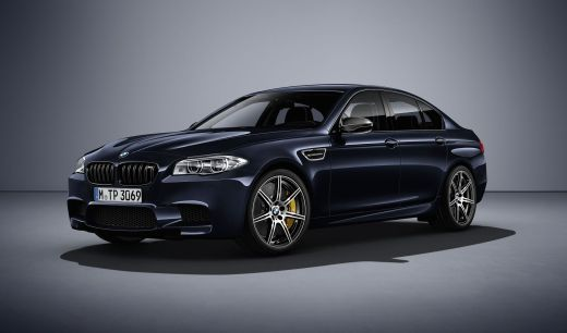 BMW M5 Competition Edition - Carbonschwarz Metallic