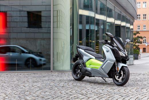 BMW C evolution silber