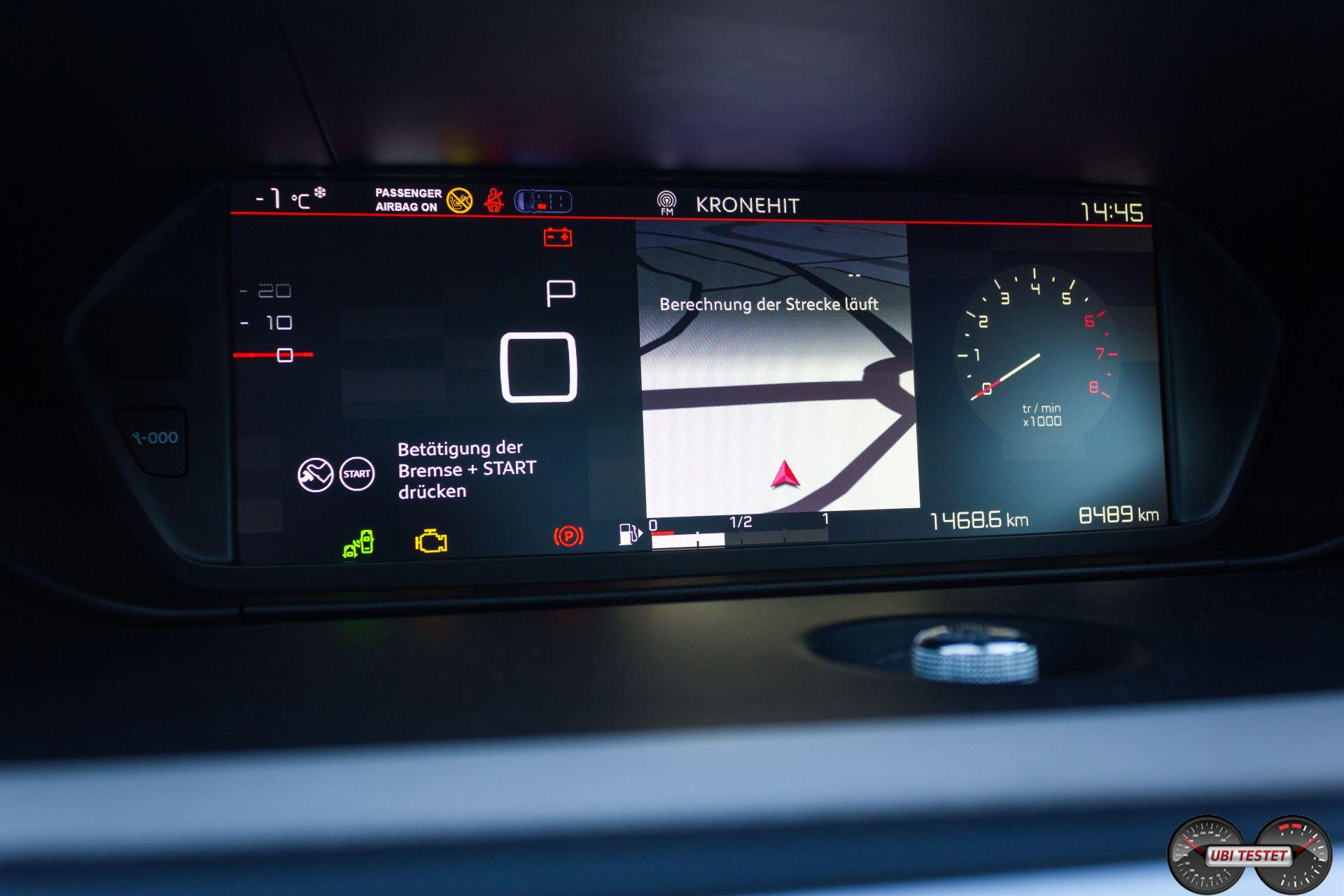 Citroën Grand C4 Picasso Kombiinstrument