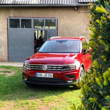 VW Tiguan Ruby Rot Metallic