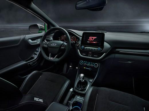 Ford Puma ST Innenraum Recarop Sportsitze SYNC 3