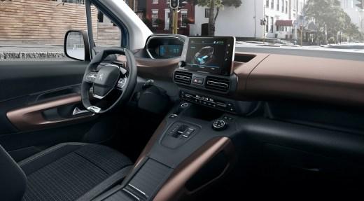 Peugeot e-Rifter iCockpit Peugeot eRifter Innenraum 2021