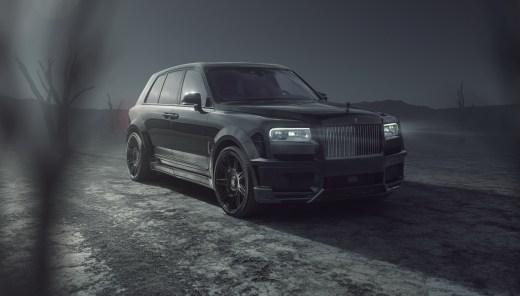 Rolls Royce Cullinan Black Edge Novitec SPOFEC 2021