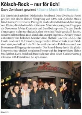 finale bericht Kölner Illustrierte