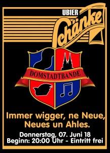 Domstadtbande - live - Do. 07.06.18 in der Schänke