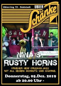 """Nina's Rusty Horns""  - Eintritt Frei"