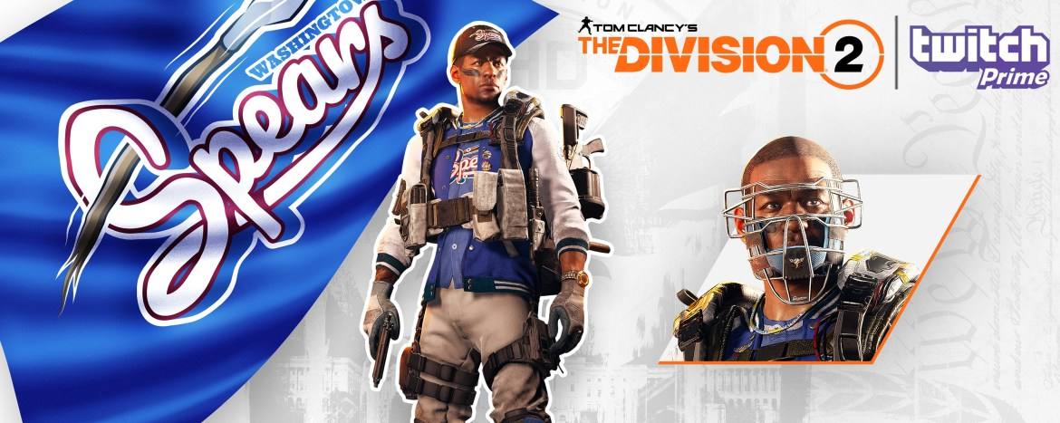 Gear up in The Division 2 with exclusive in-game outfits for Twitch Prime Members