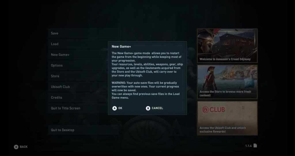 assassins-creed-odyssey-patchnotes-1.1.4-newgame