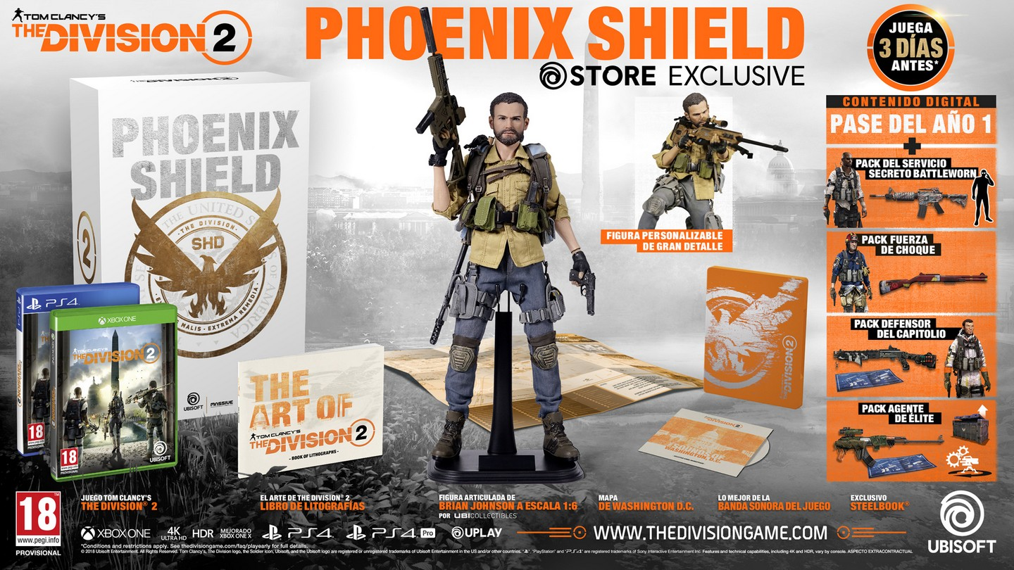 The Division 2 Phoenix Shield Collector's Edition