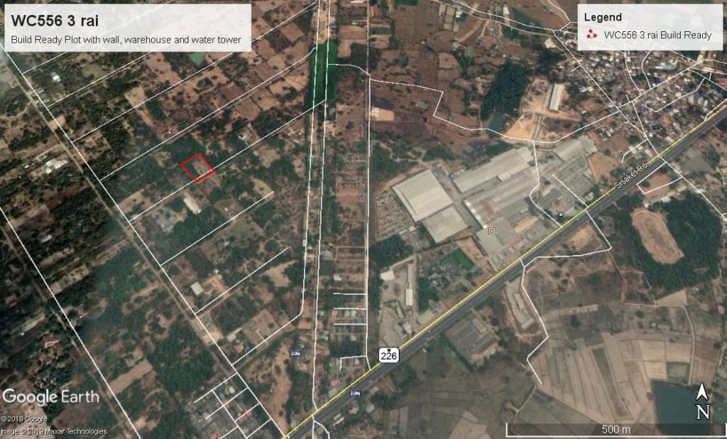 3 rai build prepared Warin Chamrap