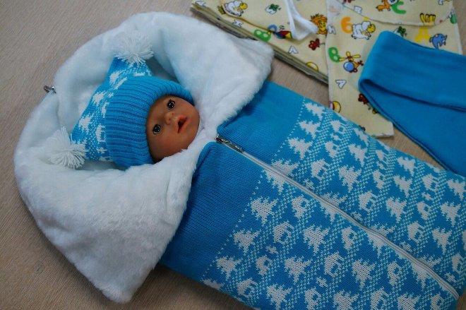 एक नवजात शिशु के लिए पैटिंग पैच