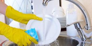 Как чисто вымыть посуду. Методы быстрого мытья руками