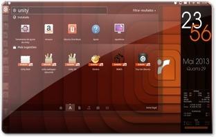 Unity SEM desfocagem no Ubuntu 13.04