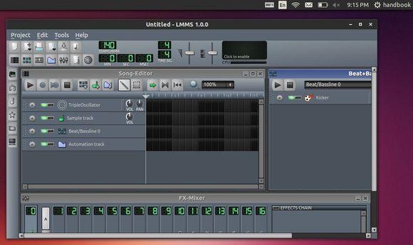 LMMS 1.0.0 Ubuntu