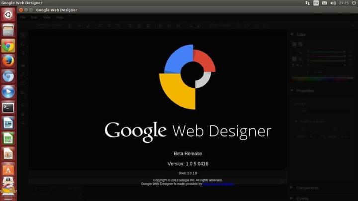google web designer on Ubuntu 14.04
