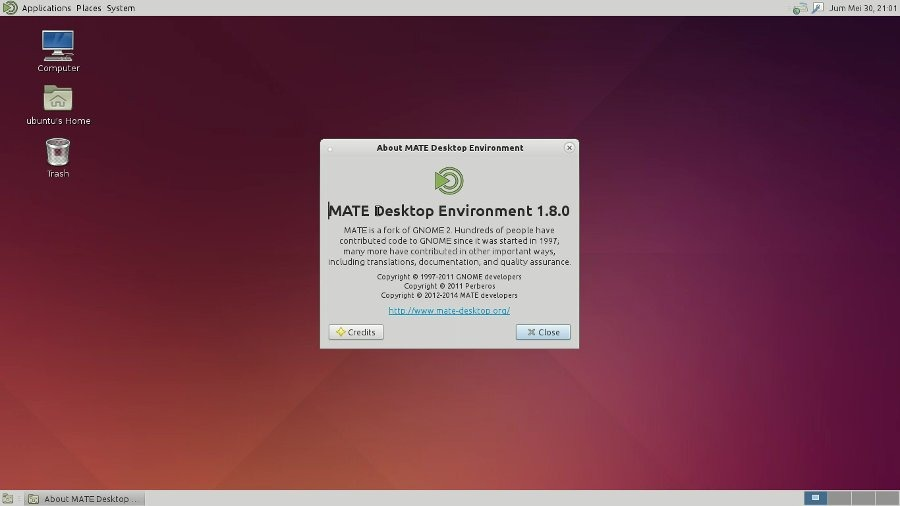 Mate 1.8 in Ubuntu 14.04 LTS - 01
