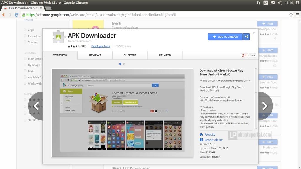 Download apk using Apk Downloader