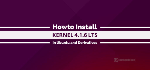 How to Install Kernel 4.1.6 in Ubuntu, Linux Mint and Derivatives