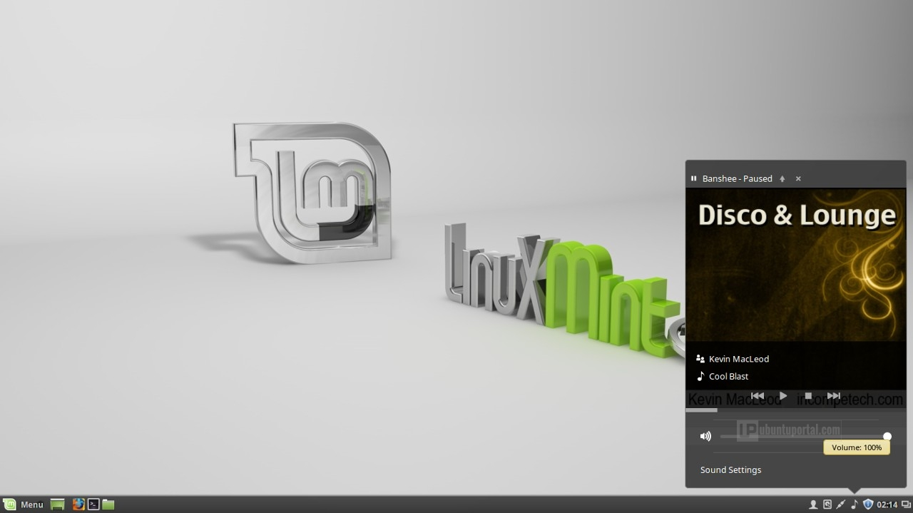 Linux Mint 17.3 Cinnamon - Sound Applets