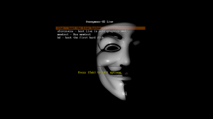 Anonymous-OS-Live-CD-GRUB Boot