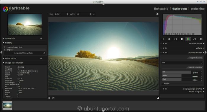 DarkTable : Open Source Photography Apps and RAW Photo Editor