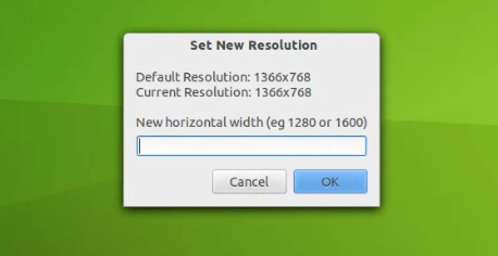 How to Increase Resolution Beyond Monitor's Limit on Ubuntu using Newrez - set resolusion