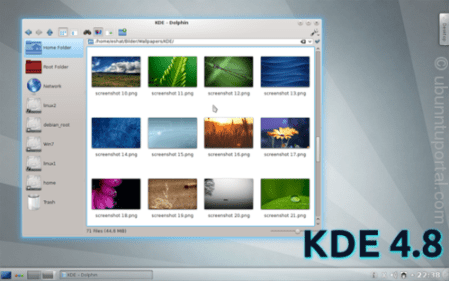 KDE 4.8 Has been Released with New Features and Ready to Install on Kubuntu via Official Kubuntu Backports PPA