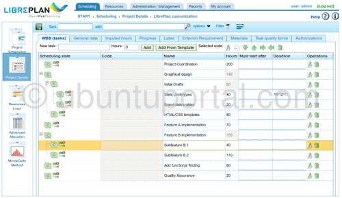 LibrePlan: Free Open Source Software Web Based for Project Planning, Monitoring and Control | ubuntu 11.10