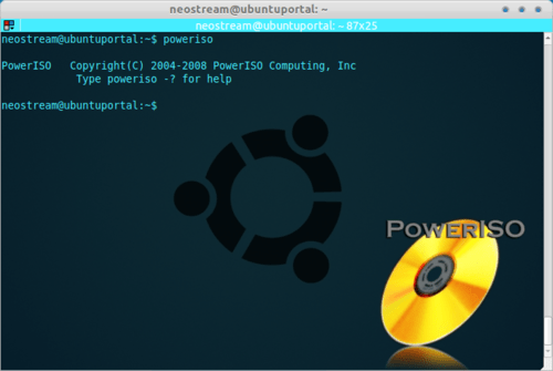 PowerISO: Powerful Command-Line Tool for CD, DVD and BD Image File