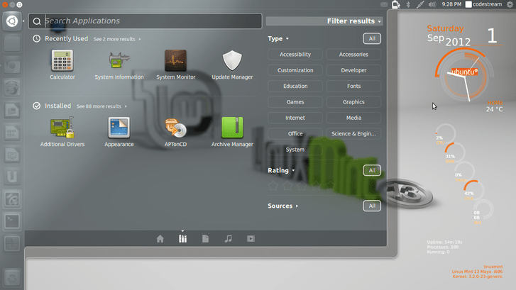 Unity on Linux mint 13 maya