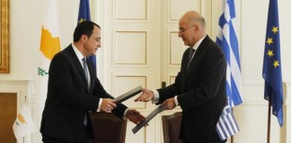 Greek and Cypriot FM's discussed Cyprus issue and regional developments
