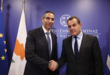 Greek and Cypriot Defense Ministers discuss defense cooperation