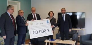 Russian Federation donates 50,000 US dollars to the CMP