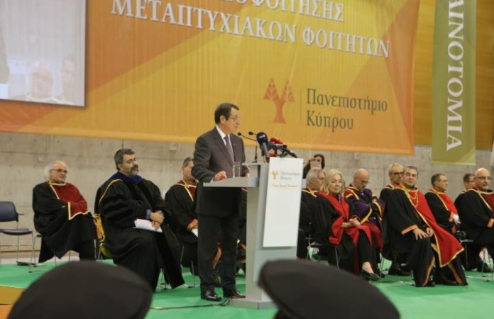Number of students choosing Cyprus' higher education institutions constantly rises, President says