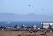Famagusta Municipality holds protest over Turkish occupied Varosha event