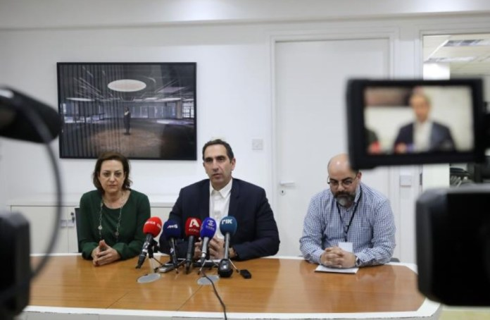 Two Cypriot men, a 25 year old and a 64 year old, who is an employee at a public hospital in Nicosia, were diagnosed with Covid19, the Health Minister Constantinos Ioannou announced on Monday.