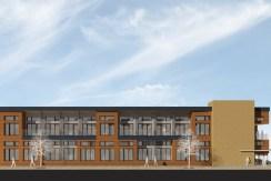 Scholars Row East Elevation_Gallery_UC-B Properties