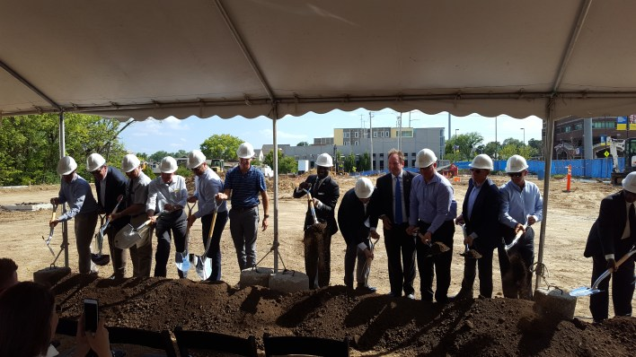 UC-B Breaks Ground for New LaQuinta Hotel & Suites