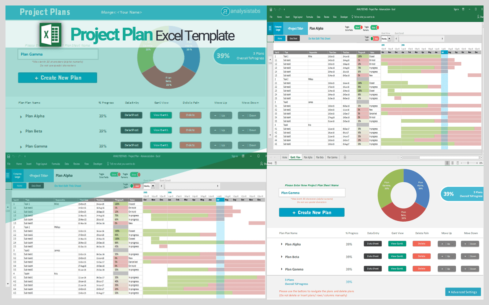Use a simple setup, the excel dashboard template shows the trend over 45 days by default. Project Planning Schedule Excel