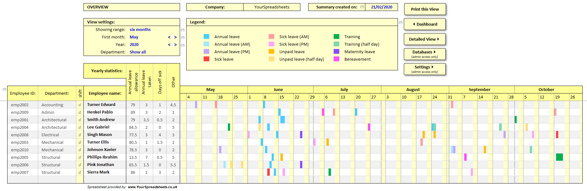 27/06/2016· in this article, you will get knowledge about the employee vacation tracker template. Employee Vacation Planner Template Excel