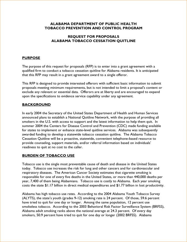 Scholarship Proposal Sample
